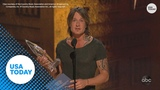 Keith Urban wins Entertainer of the Year at CMA's
