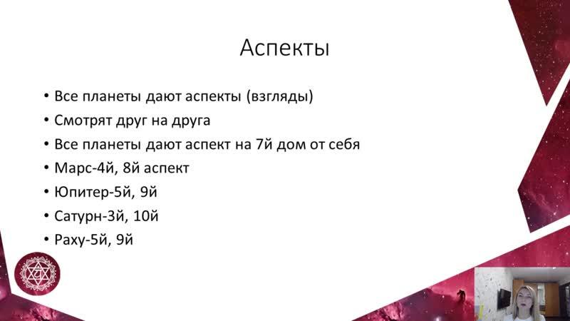 Урок 3-Аспекты