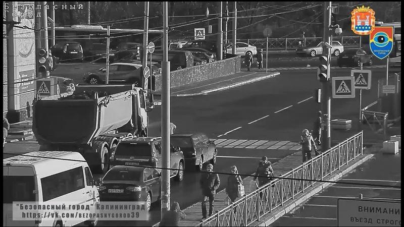 Водитель грузовика сбил пешехода