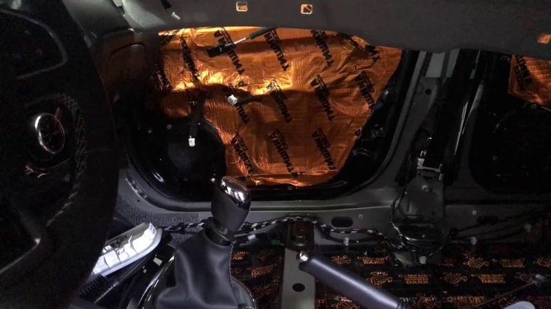 Renault Kaptur, какой есть небольшой недочёт и метод его устранения. Вибро- шумоизоляция кроссовера