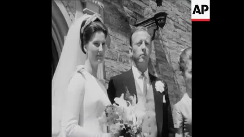 Свадьба Принца Морица Гессенского и принцессы Татьяны фон Сайн-Витгенштейн-Берлебург, 3 июня 1964 г.