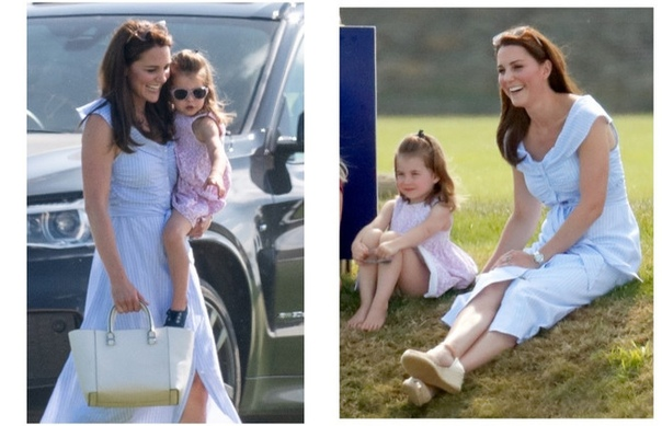 10х летних образов герцогини Кейт Кембриджской, которыми стоит вдохновиться Обувь на танкетке, романтичные платья, кружева, полоска...Летние образы герцогини полны расслабленности и легкости,