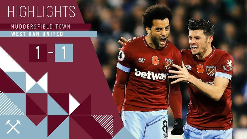 HIGHLIGHTS HUDDERSFIELD TOWN 1 1 WEST HAM UNITED