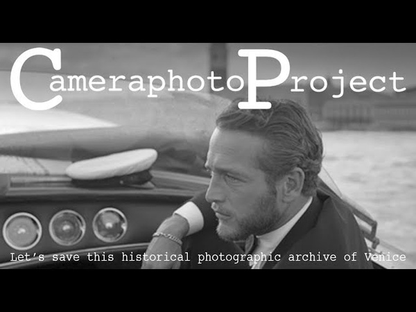 Cameraphoto Project - Salviamo l'archivio fotografico di Venezia - Eng Sub
