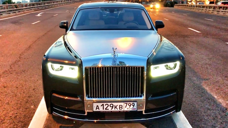 Новый ROLLS-ROYCE PHANTOM за 40 МЛН () Топим на V12, 6.75 л, 571 л.с.! RR PHANTOM VIII / 8