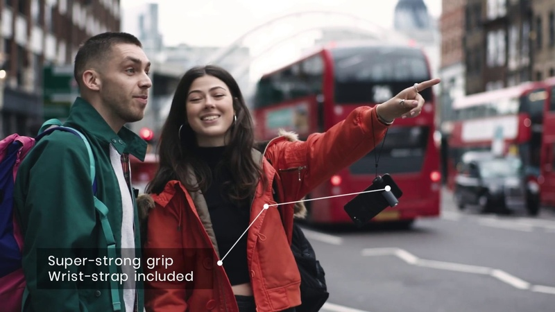ShutterGrip - The grab-and-go camera control for your smartphone