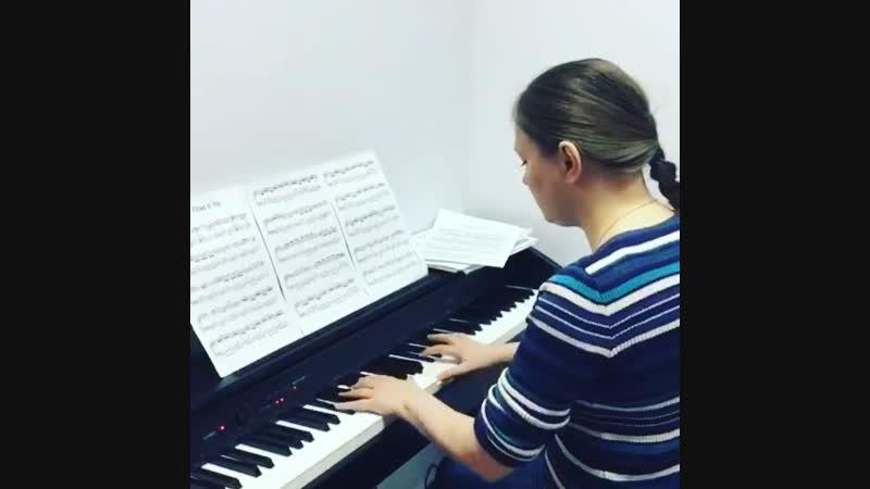 Катрина Лаце — ученица MUSICLIFE