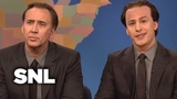 Weekend Update Get in the Cage with Nicolas Cage and Nicolas Cage - SNL