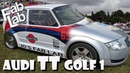 Audi TT Turbo 225 QUATTRO Mk1 Rally Golf 1 Build Overhaulin