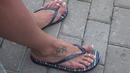 Beautiful women's feet