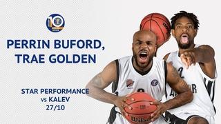VTBUnitedLeague • Star Perfomance. Trae Golden & Perrin Buford vs Kalev Tallinn - 54 Pts Combined, 85% FG!