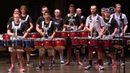 Marching Percussion Students Perform with Carolina Crown