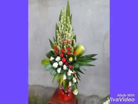 Một số mẫu cắm hoa đẹp , 꽃꽂이, 花, flower arrangement/ sakim naga /