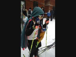 Мухино. 23.12.2018. Открытые районные соревнования по лыжным гонкам