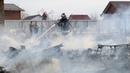Возгорания сухой травы участились в округе Луховицы