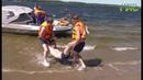 Пляжные спасатели Самары провели показательную тренировку по спасению утопающего