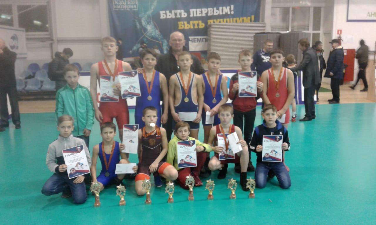 Спортсмены города Донецка приняли участие в российском межрегиональном турнире по греко-римской борьбе в Воронеже