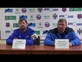 Пресс-конференция О.Чубинского и А.Рушкина