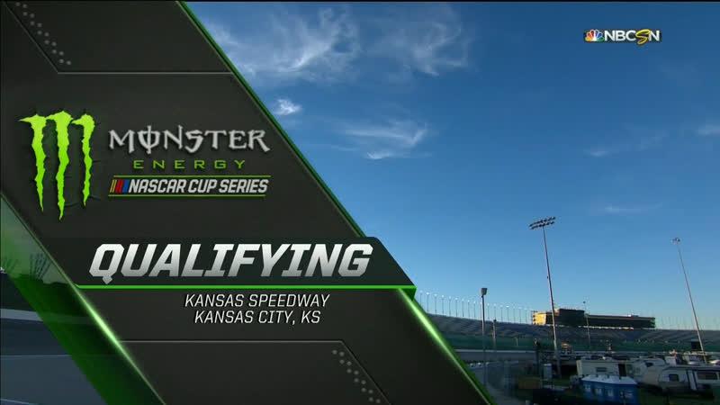 2018 NASCAR Monster Cup - Round 32 - Kansas - Квалификация