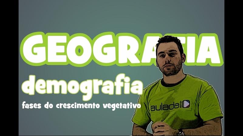 Geografia: Demografia: Aula 2 - Fases do Crescimento Vegetativo