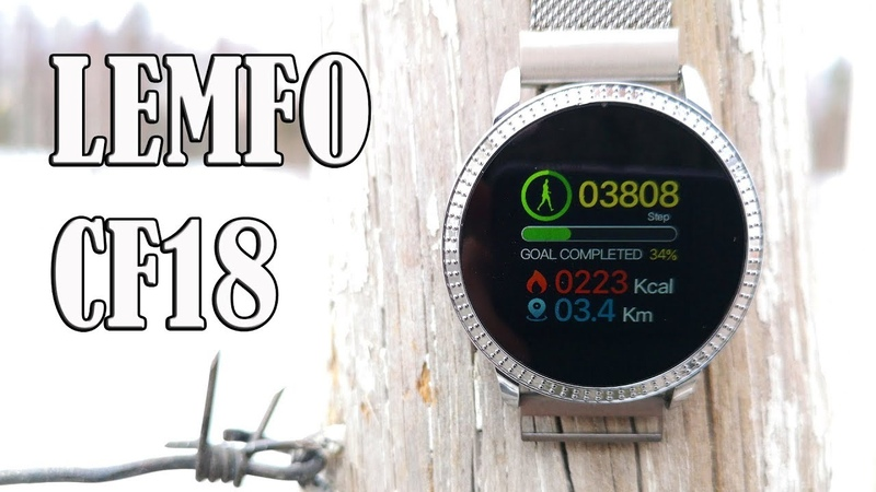 10 фактов об умных часах Lemfo cf18 II Странный Китай за 26$