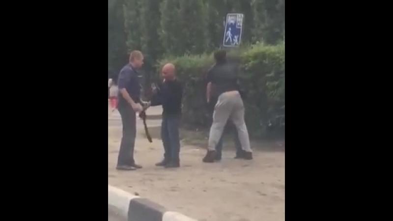 Нелепая драка Пьяные разборки в Воронеже