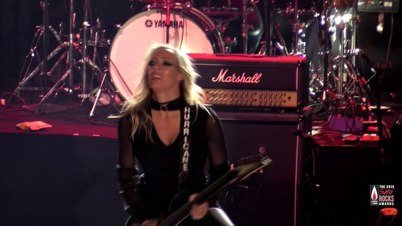 Nita Strauss performs The Show Must Go On: The 2019 She Rocks Awards