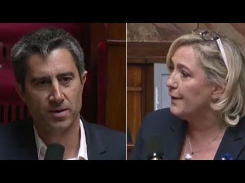 François Ruffin face à Marine Le Pen à l'Assemblée !