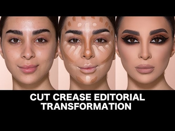 Cut Crease Editorial Transformation by Samer Khouzami
