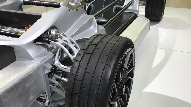 Машина, распечатанная на 3D-принтере – Divergent 3D.Лос-Анджелес 206. Авто