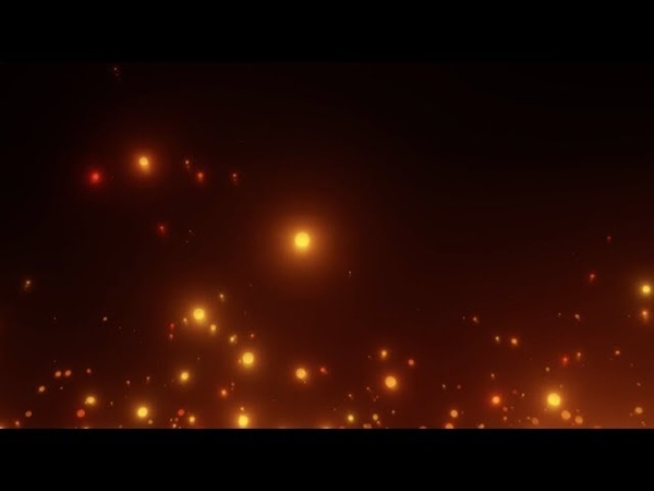 Particles Fire Sparks and Flames | HD Relaxing Screensaver