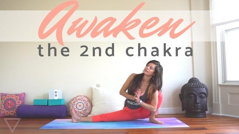 Awaken the Second Chakra - Vinyasa Yoga Class - Creative Power, Sensuality and Liquidy Flowing