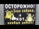 Лютые объявления. Мегаподборка с канала Макс Максимов. Осторожно злая собака, а кот вообще ДЕБИЛ