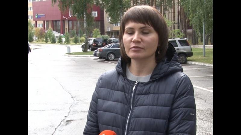 Мамы Ксюши Миллер и Алеси Лопатиной благодарят участников акции