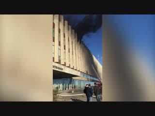 В здании «Ростелекома» на Синопской набережной произошел пожар