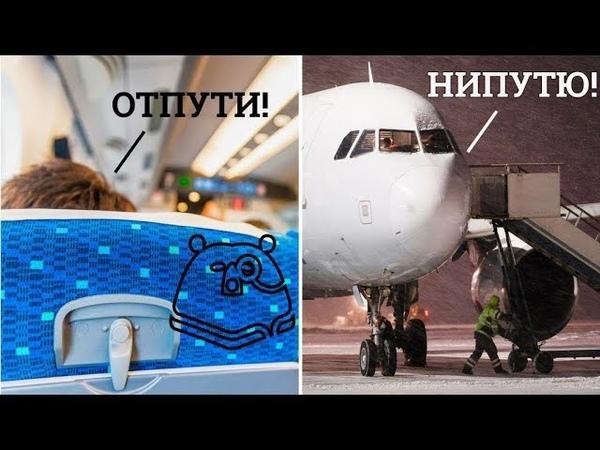Почему пассажиров не выпускают сразу после приземления самолета