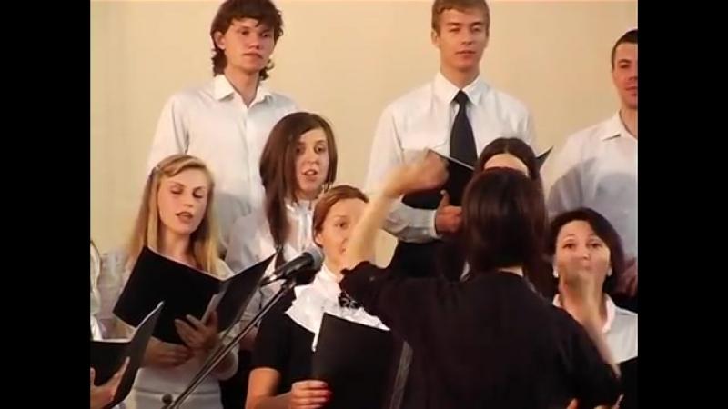 Музыкальная школа имени Полякова хор 4.5.2012 Виола