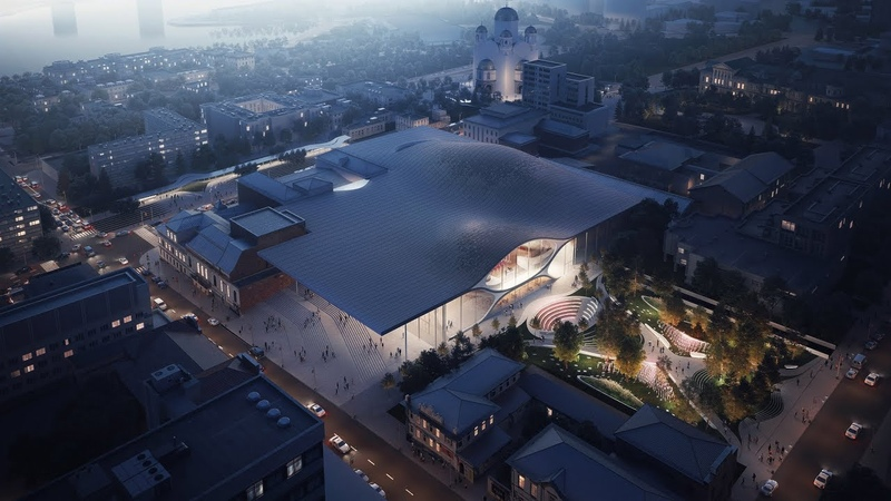 Zaha Hadid Architects to design concert hall for Ural Philharmonic Orchestra in Russia