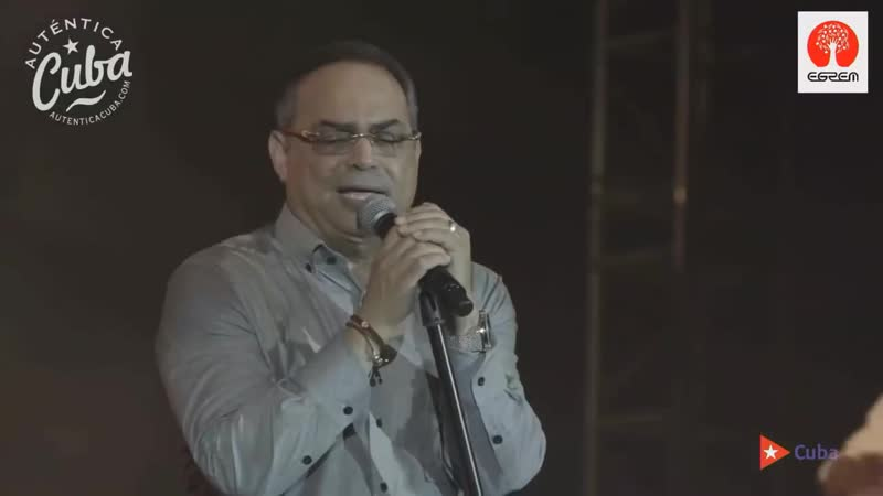 Gilberto Santa Rosa - En Vivo La Habana Cuba 2018