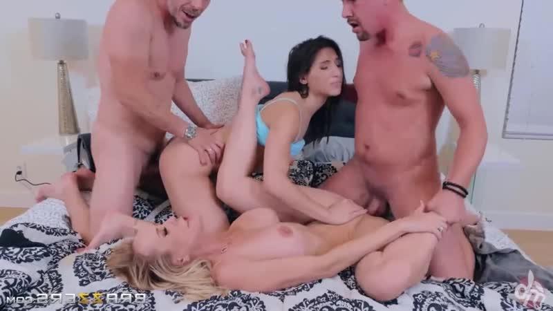 Brazzers: Abella Danger Brandi Love motorbunny edition sex (porno, full, new, couples, two, fuck, chick,
