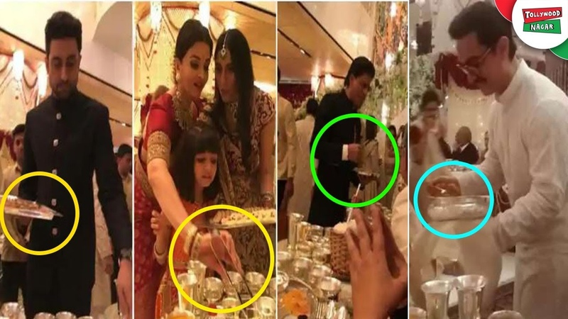 Why Amitabh And Aamir Serve Food At Isha Ambani Wedding | Amitabh Explains Why They Serve Food