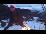 Семён Фролов Танец с дровами