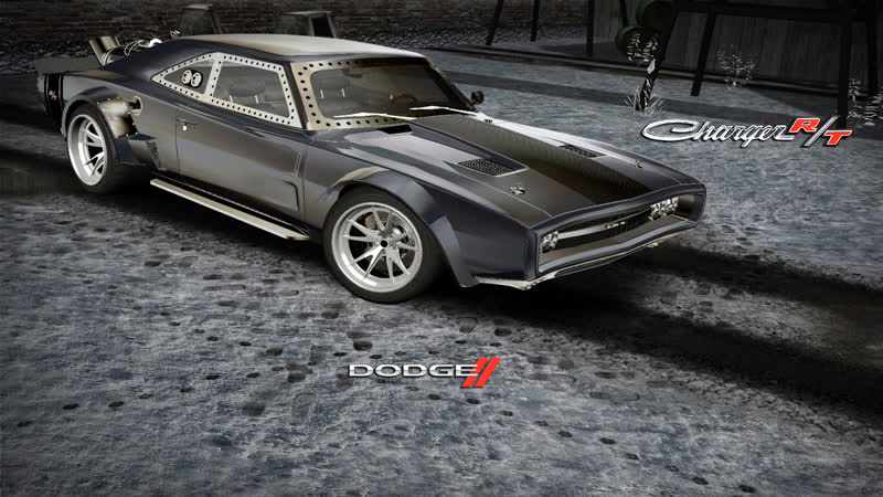 NFSMW2005 Doms Dodge Ice Charger70 Fast and Furious8