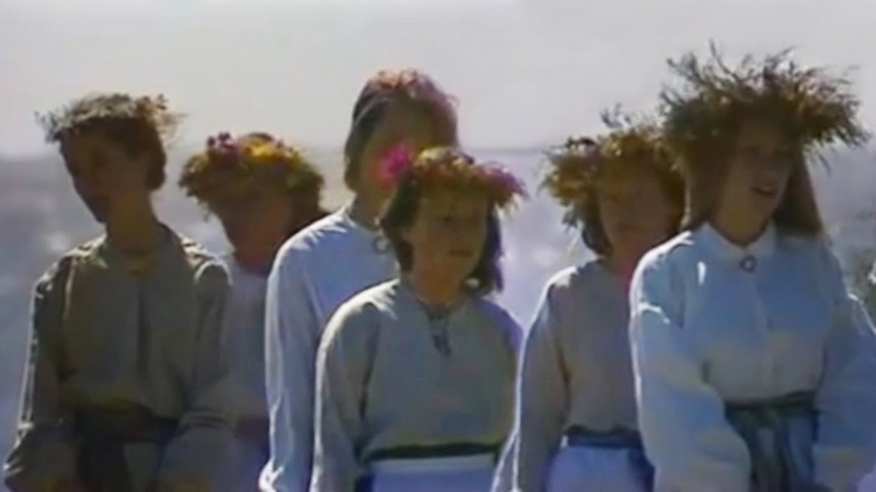 Authentic East Prussian folk song | Klaipėdos krašto lietuvininkų daina - Jau aušt aušružė