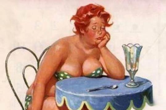 Теткa Частo мyжчины возмущаются, увидев, что из тонкой и звонкой девочки, которой когда-то была их возлюбленная, вдруг вылупилась тетка. Они считают, что их обманули. Подсунули, вроде как,