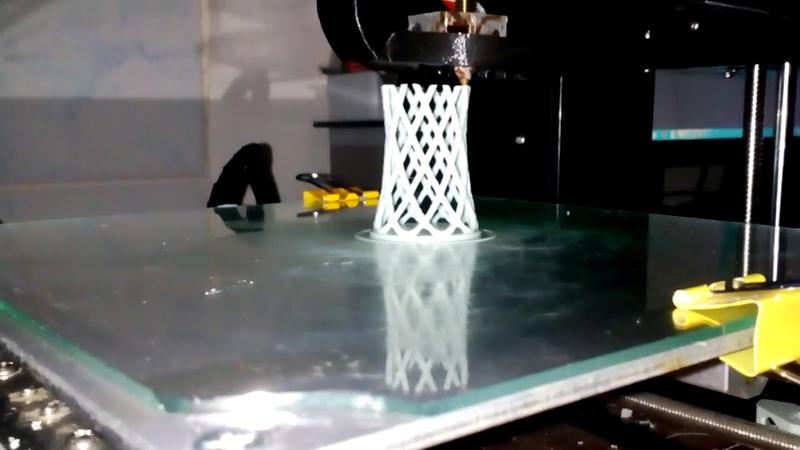 Ускоренная 3D печать.