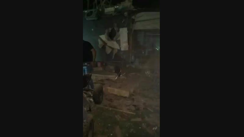 Последствия обстрела Израиля с территории Сектора Газа Дом местного жителя