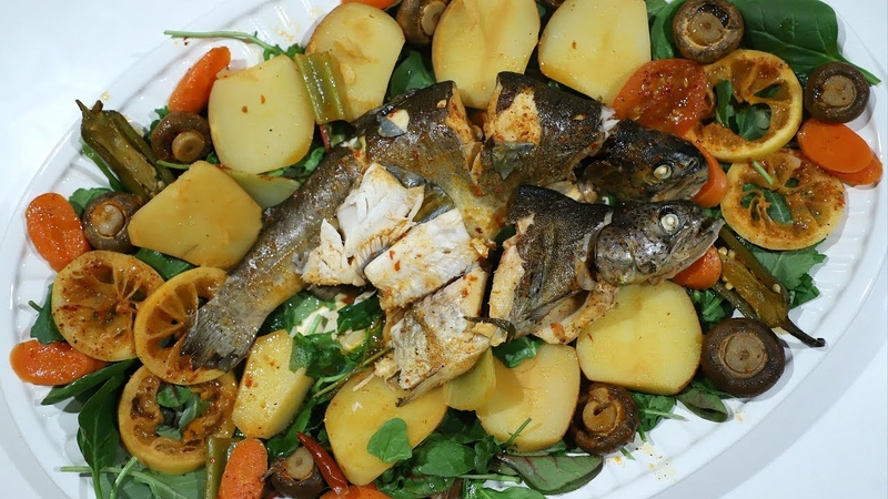 Ձկան Խաշլամա Արագ Ընթիրք Fish Ragu Հեղինե Heghineh Cooking Show in Armenian