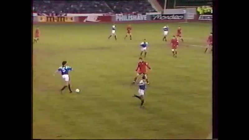 Лига чемпионов 1992 93 6 тур Рейнджерс Глазго Шотландия ЦСКА Москва Россия 21 04 1993