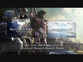 Monster Hunter World Iceborne - Teaser Trailer ¦ PS4